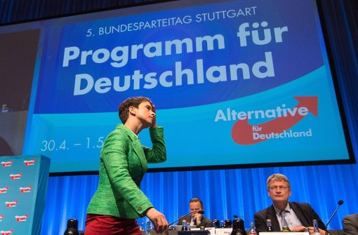 Anti-Islam-Reden und nationale Töne