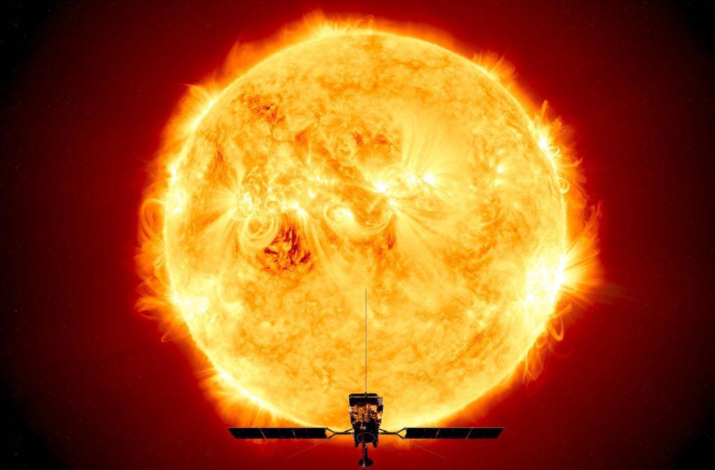Sonne Foto