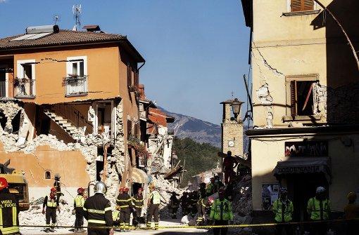 Staatsanwaltschaft ermittelt nach Erdbeben