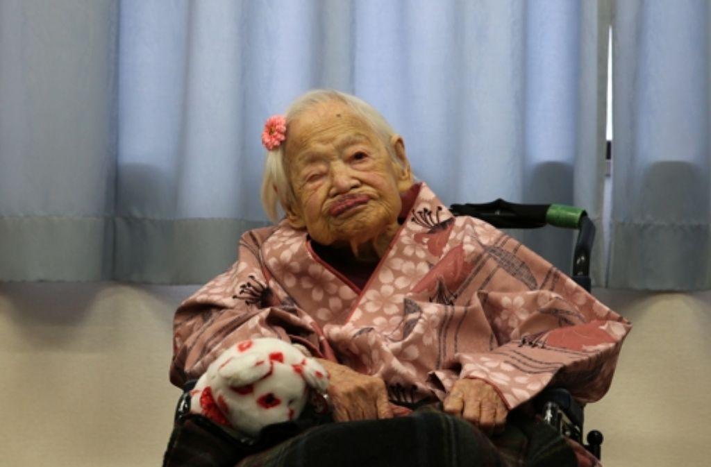 Die älteste Mensch Der Welt