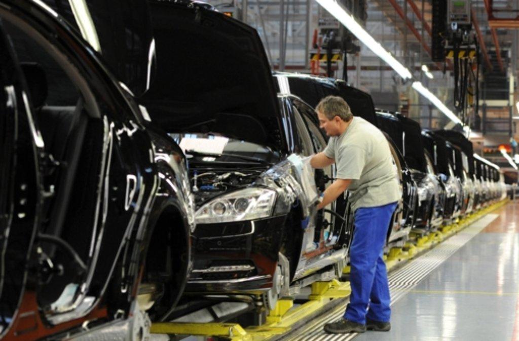 Daimler Ferien Job