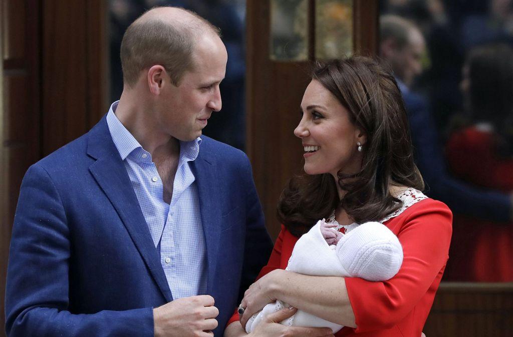 Taufe Von Prinz Louis Wen Wählen Kate Und William Als Paten