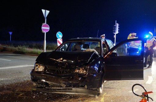 Crash auf der Kreuzung