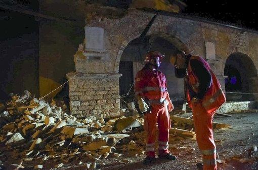 Erdstöße waren sogar in Rom zu spüren