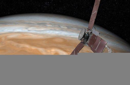 """""""Juno"""" erreicht nach fünf Jahren Jupiter"""