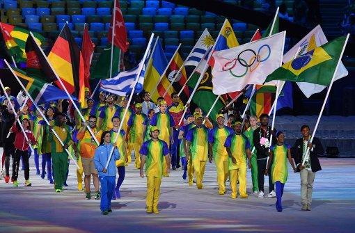 So verabschieden sich die Athleten aus Rio