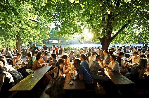 München hat Watson und die Biergärten