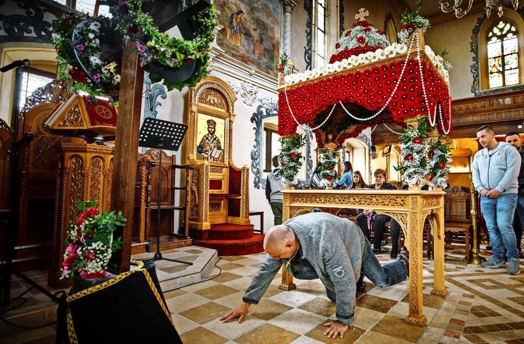 Griechisch-Orthodoxe in Waiblingen: Ostern: Für manche die