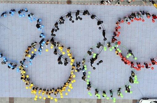 Olympische Spiele in Deutschland - zukunftsweisendes Projekt? Foto: dpa