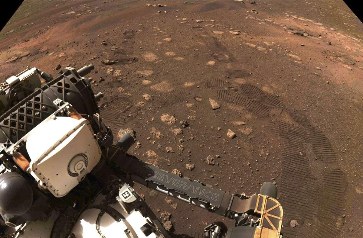 Auf Chip graviert - NASA schickt Namen auf den Mars - Stuttgarter Nachrichten
