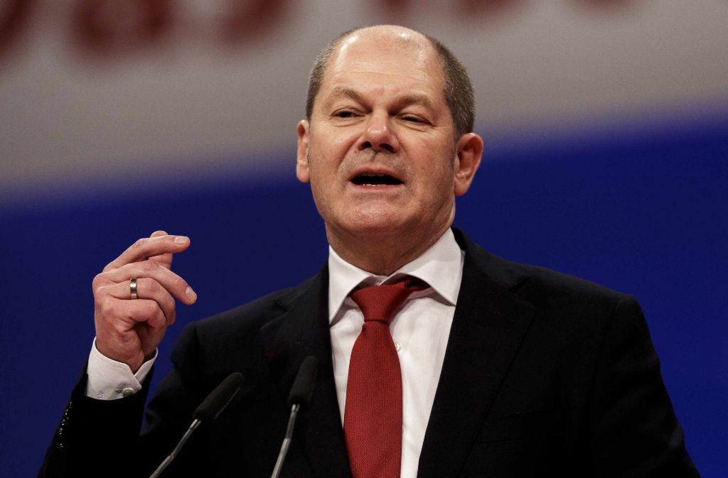 Olaf Scholz (SPD) Foto: Getty Images Europe