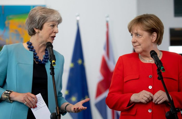 Brexit-Rettungsmission in Europa: Theresa May besucht auch Merkel in Berlin