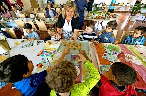 Ein Stern für die Kindergarten-Küche