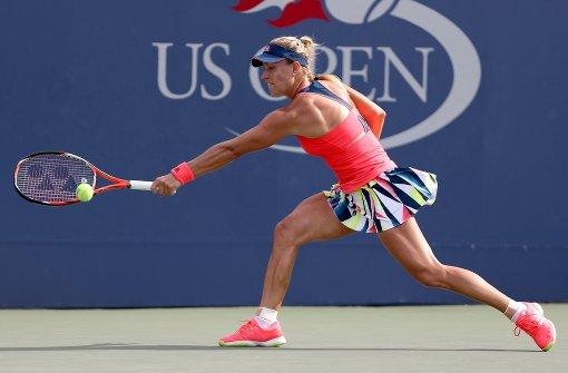 Kerber erreicht dritte Runde der US Open