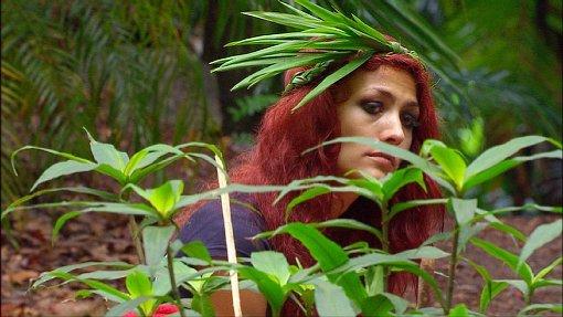 Zuletzt hatten auch die RTL-Zuschauer ein Einsehen und wählten die Dauerquatscherin Fiona Erdmann kurz vor dem Finale aus dem Dschungelcamp. Foto: RTL