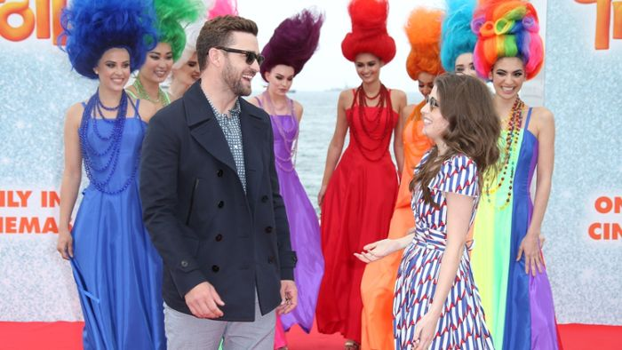 "Justin Timberlake flötet ""True Colors"""