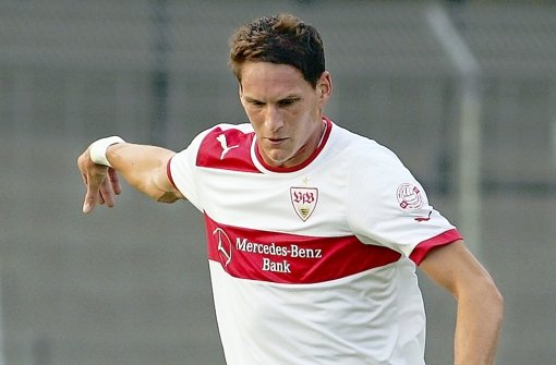 Mit 23 Jahren am Ziel: Innenverteidiger Benedikt Röcker ist jetzt Profi beim VfB. Foto: Pressefoto Baumann