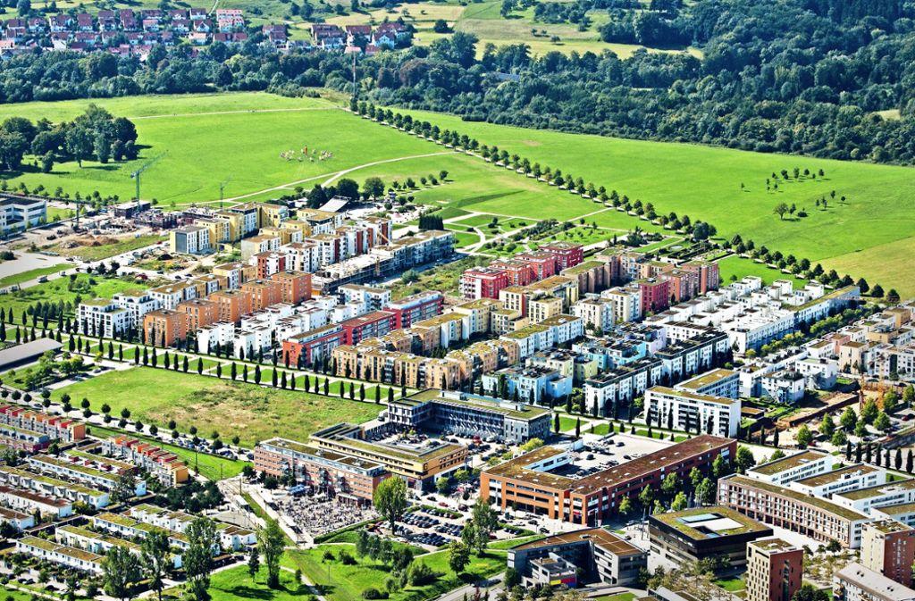 Ostfildern: Ein junger Stadtteil auf historischem Areal