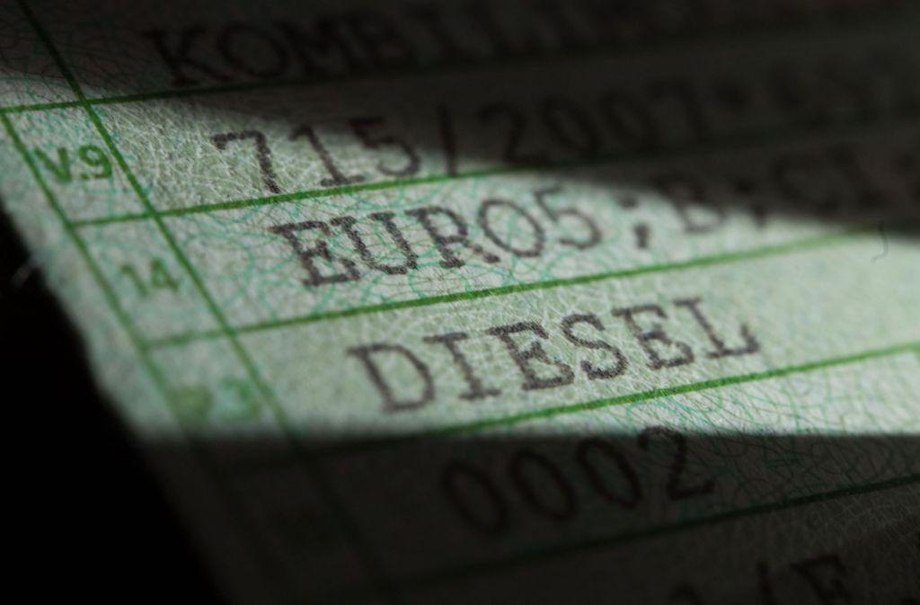 Was Passiert Mit Diesel Euro 5