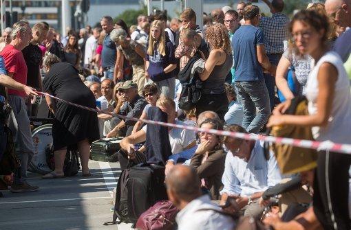 Passagiere reagieren gelassen auf Evakuierung