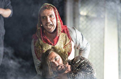 """Die """"Nibelungen"""" im Freilufttheater"""