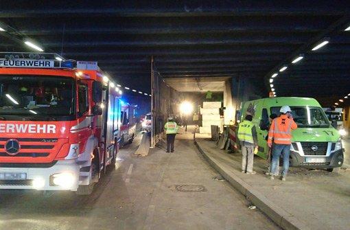 Berger Tunnel nach tödlichem Arbeitsunfall gesperrt