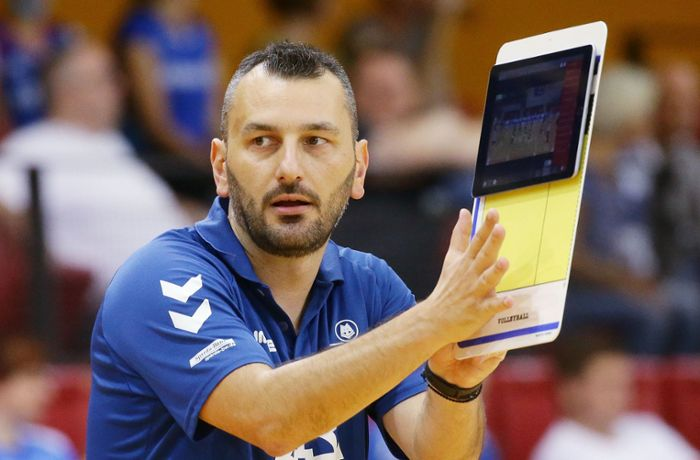 Volleyball – Allianz MTV Stuttgart: Giannis Athanasopoulos nicht mehr Trainer