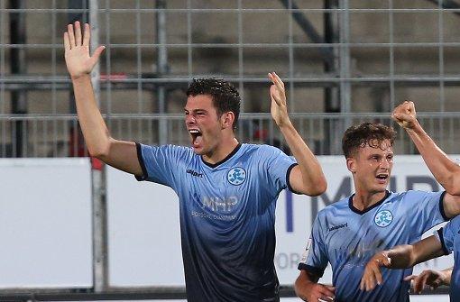 Stuttgarter Kickers feiern Auswärtssieg in Pirmasens