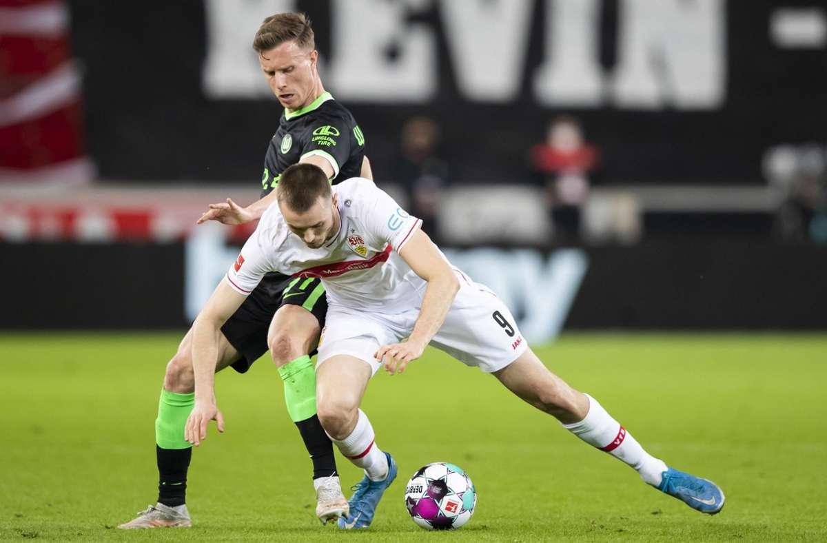 VfB Stuttgart gegen VfL Wolfsburg: Matarazzo-Team mit dritter Niederlage in Folge
