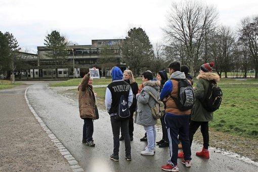 Schüler folgen den Spuren der Nazis