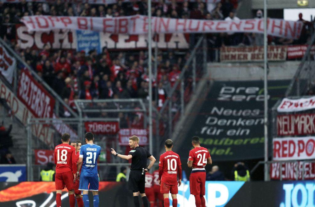 Plakat Bayern Hoffenheim