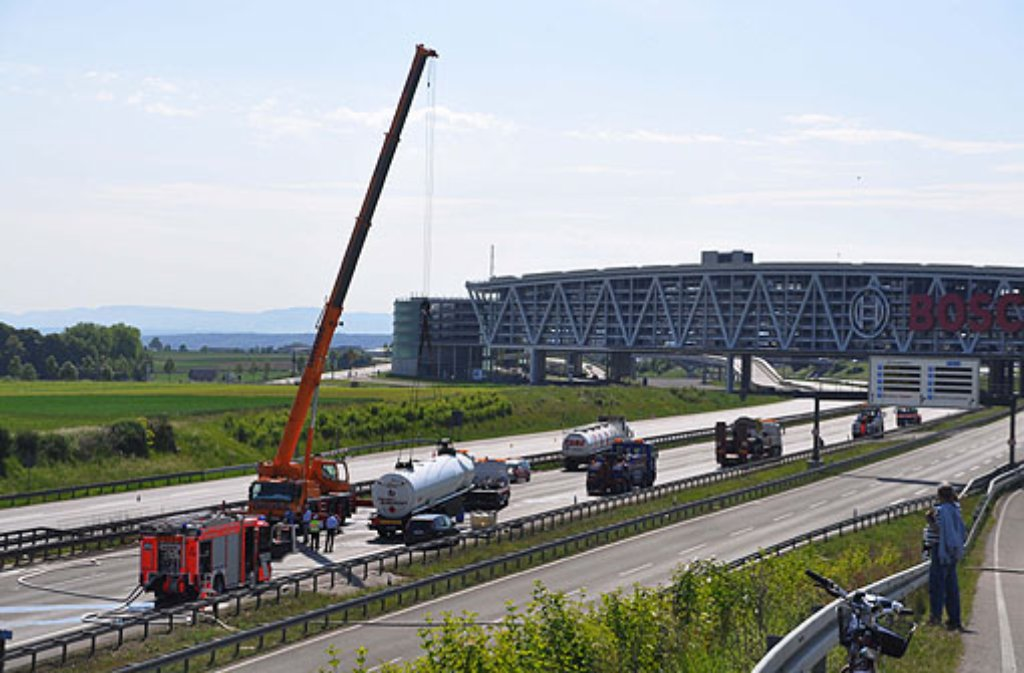 Vollsperrung A8 Stuttgart