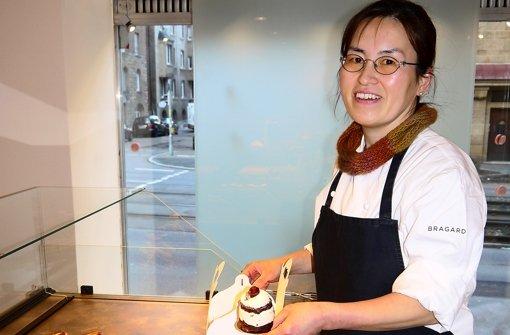 Tomomi SugimotoTomomi Sugimotos Patisserie wird gut angenommen. Foto: Nina Ayerle