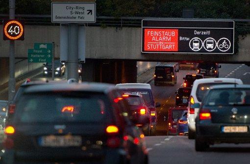 Feinstaubbelastung in Stuttgart deutlich gesunken