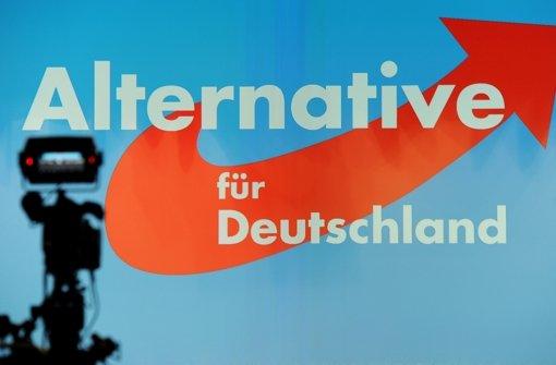 Zur Wahlparty rechnet die AfD in Stuttgart mit vielen Kameras – jetzt in einem anderen Lokal als bisher geplant Foto: dpa