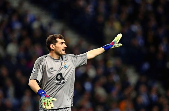 Iker Casillas erleidet Herzinfarkt: Not-OP bei spanischer Towartlegende