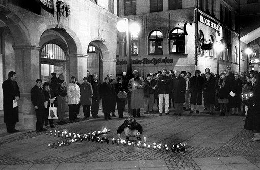 Gedenkfeier für die Opfer zwei Jahre nach der Brandkatastrophe. Foto: Kraufmann