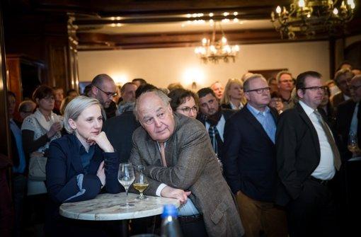 CDU-Wahlparty am Abend des 13. März: Seit dem Bekanntwerden der Wahlergebnisse ist im Kreisverband auch nicht mehr Freude aufgekommen. Foto: Lichtgut/Achim Zweygarth