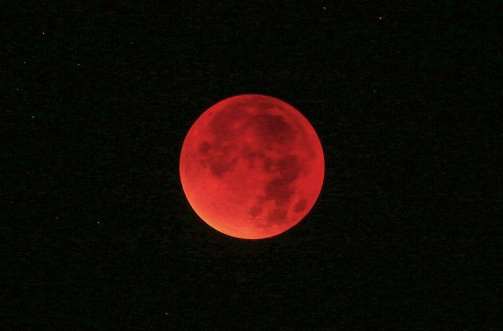 Mondfinsternis Im Livestream Hier Können Sie Den Blutmond Vom Sofa