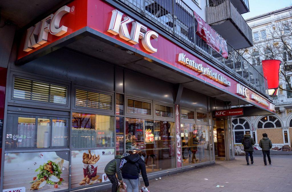 Kentucky Fried Chicken Fastfood Kette Will In Deutschland Stark
