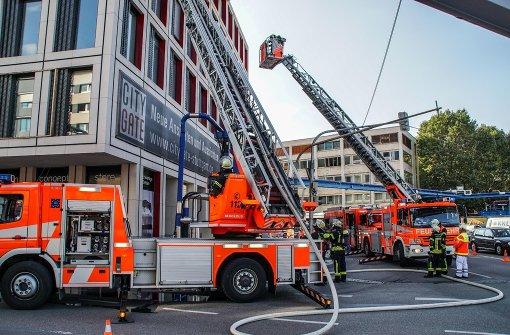 Fassadenbrand verursacht immensen Schaden