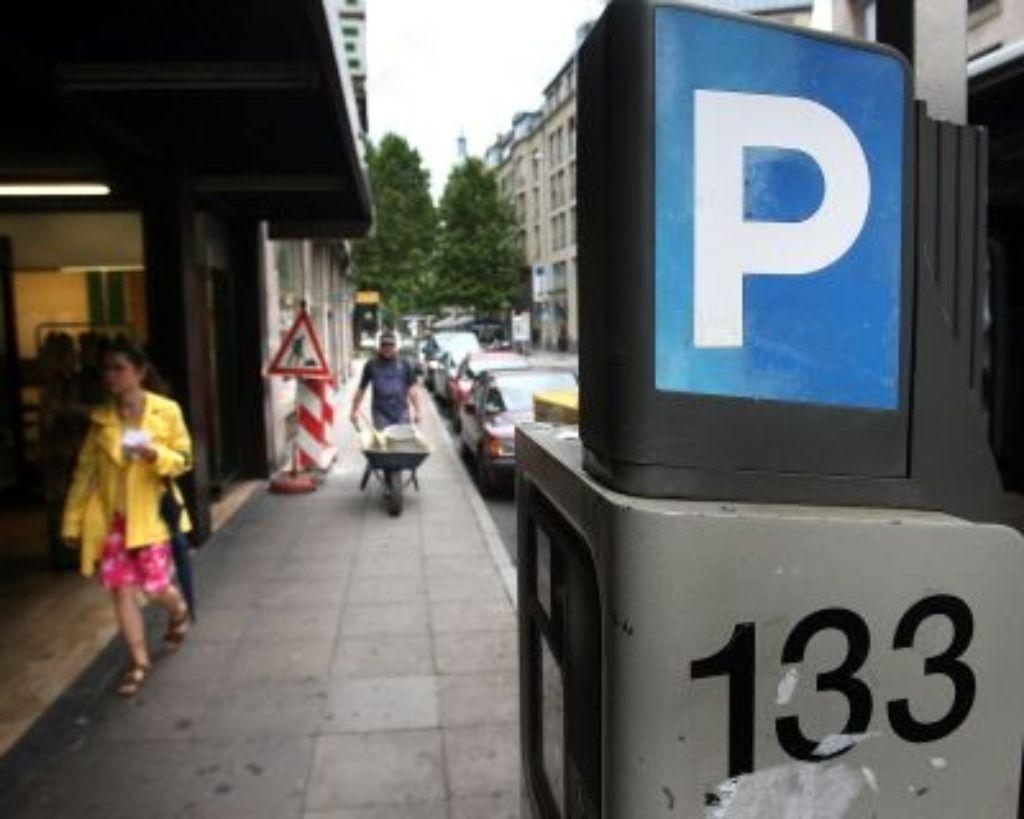 Parken In Der Innenstadt Spd Rettet Die Brötchentaste Stuttgart