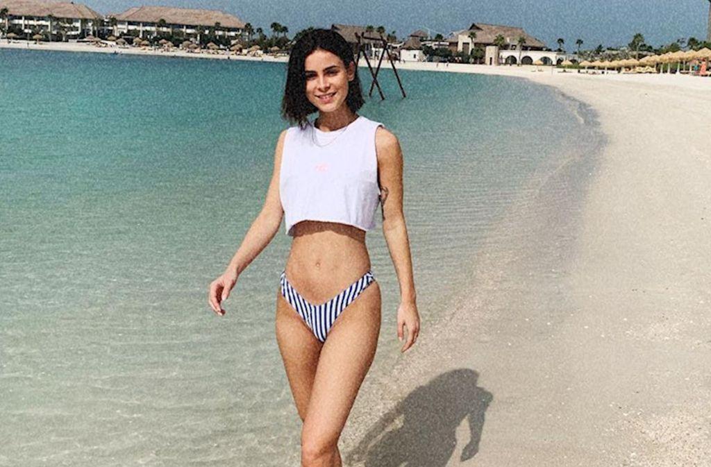 Lena Meyer Landrut Am Strand Mit Diesen Bildern Macht Lena Ihre