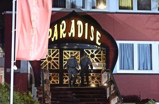 Vertreibung aus dem Paradies: Polizei und Staatsanwaltschaft vermuten Menschenhandel im Großbordell-Imperium Paradise. Foto: 7aktuell.de/Eyb