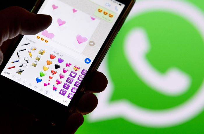 Messenger-Update: WhatsApp führt Foto-Sticker ein