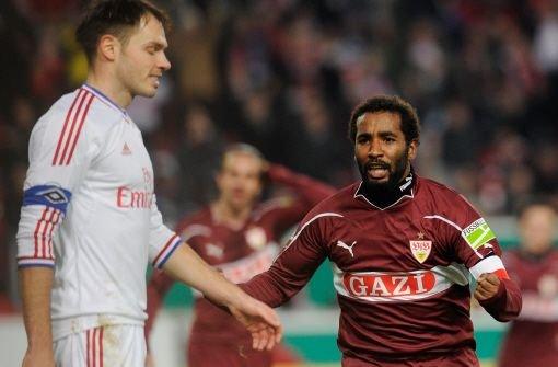 VfB-Stürmer Cacau arbeitet an seiner Rückkehr. Foto: dapd