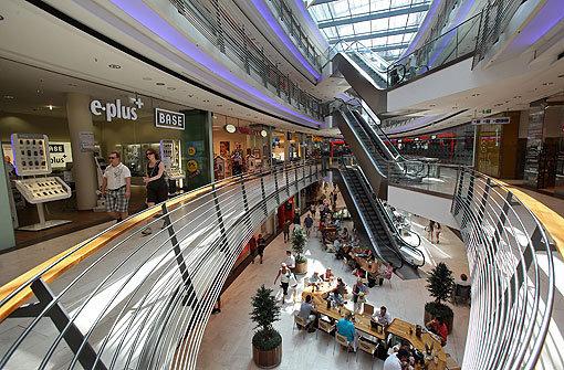 Shopping center darfs ein bisschen mehr sein bauen for Einkaufszentrum stuttgart