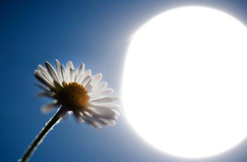 Wetterlage perfekt für Sonnenbrand