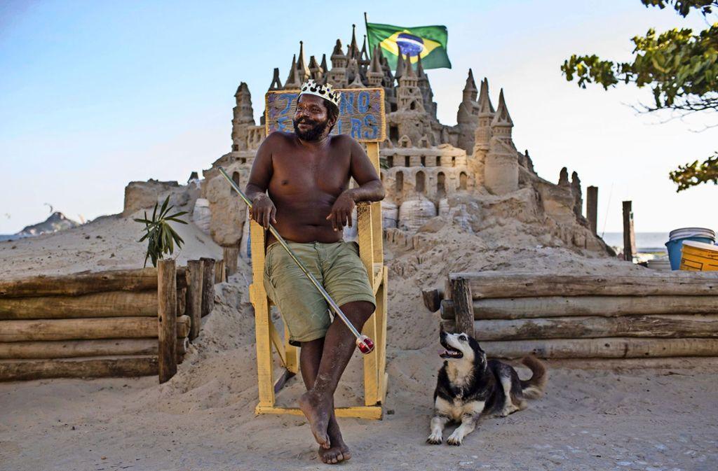 Brasilien Der Sandkönig Von Rio Panorama Stuttgarter Nachrichten