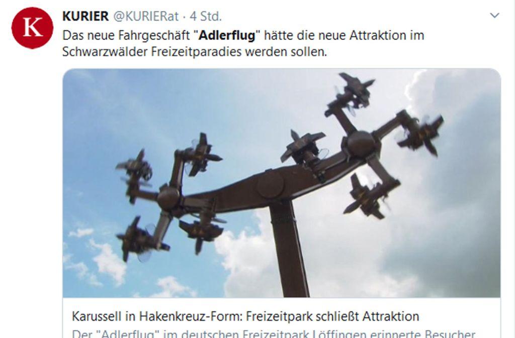 form 965 k-1  Tatzmania im Schwarzwald: Freizeitpark schließt Karussell ...